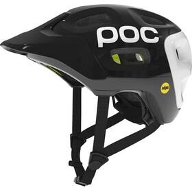 POC Trabec Race Mips Black/White